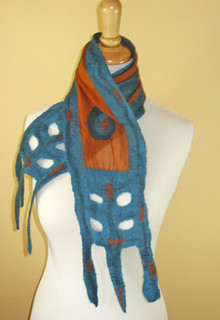Fringe Element Nuno scarf