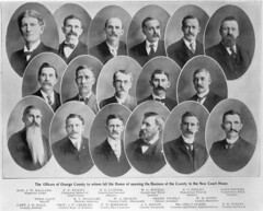Orange County officials, 1901
