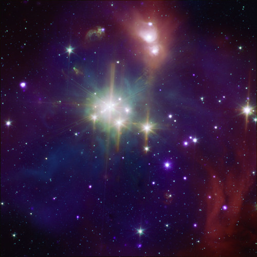 Coronet Cluster: A Neighbor of Star Formation (A region of star formation about 420 light years from Earth.) by Smithsonian Institution