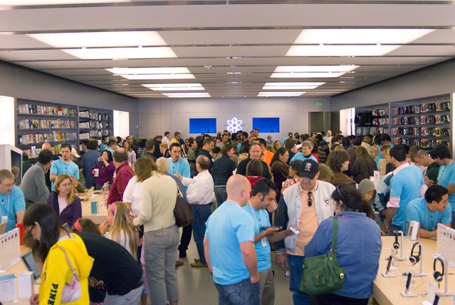 Apple Store Full