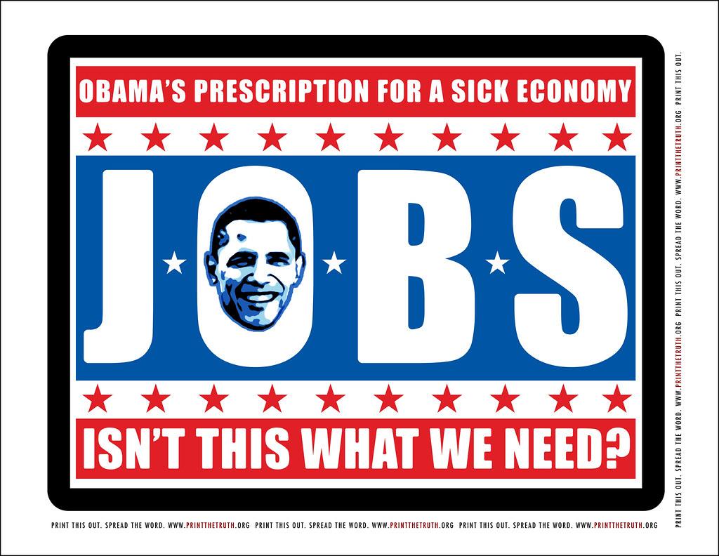 printthetruth s most interesting flickr photos picssr american propaganda posters obama jobs