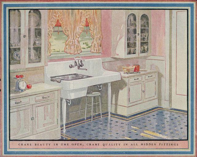 1925 crane kitchen flickr photo sharing for 1925 kitchen designs