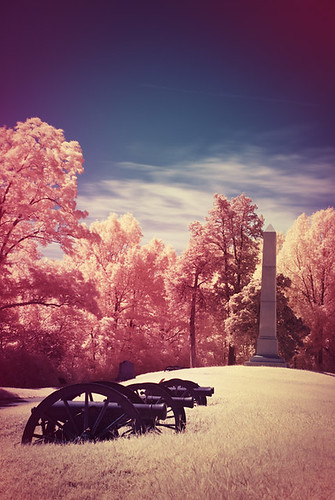 Vicksburg in Infrared