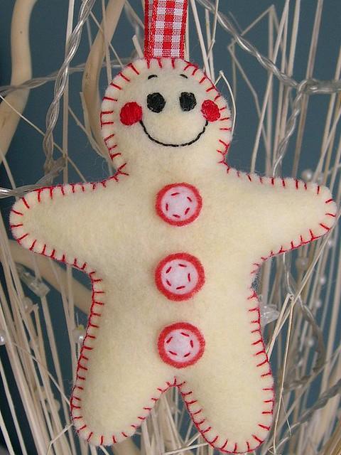Christmas Shortcake/Gingerbread man