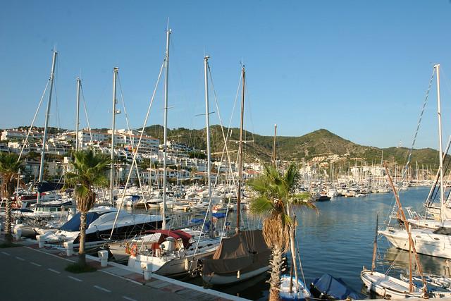Harbour of Sitges, Costa Garraf, Spain - Flickr CC bewilder53