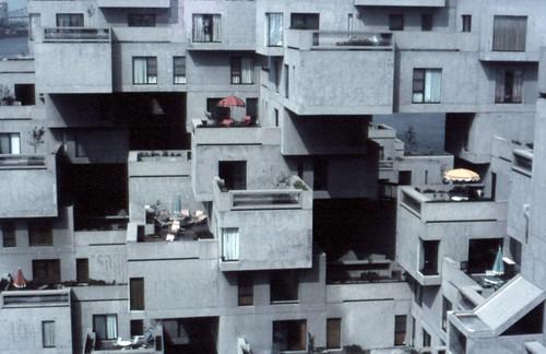 Habitat, Expo 67, Montreal by Iqbal Aalam