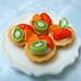 Mixed Fruit Tarts by P's Design Miniatures