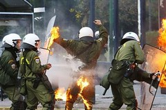 GREECE RIOTS athens riot dec by manos2036