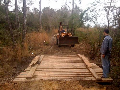 Dads bridge building