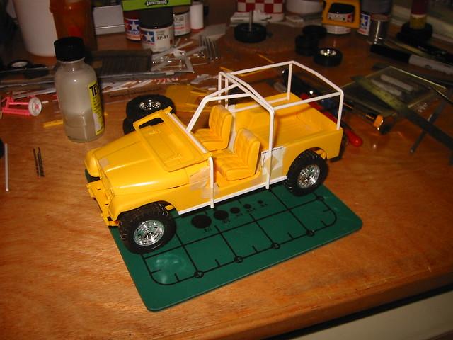 Jeep CJ8 Scrambler (1/24 scale scratchbuild)