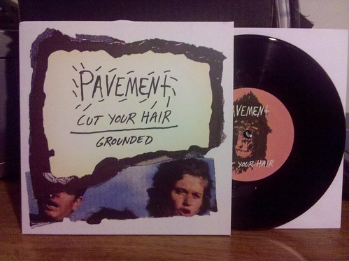 "Record Store Day Haul #7 - Pavement - Cut Your Hair UK 7"" by factportugal"
