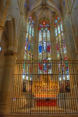 Vitraux de l'église d'Ambierle