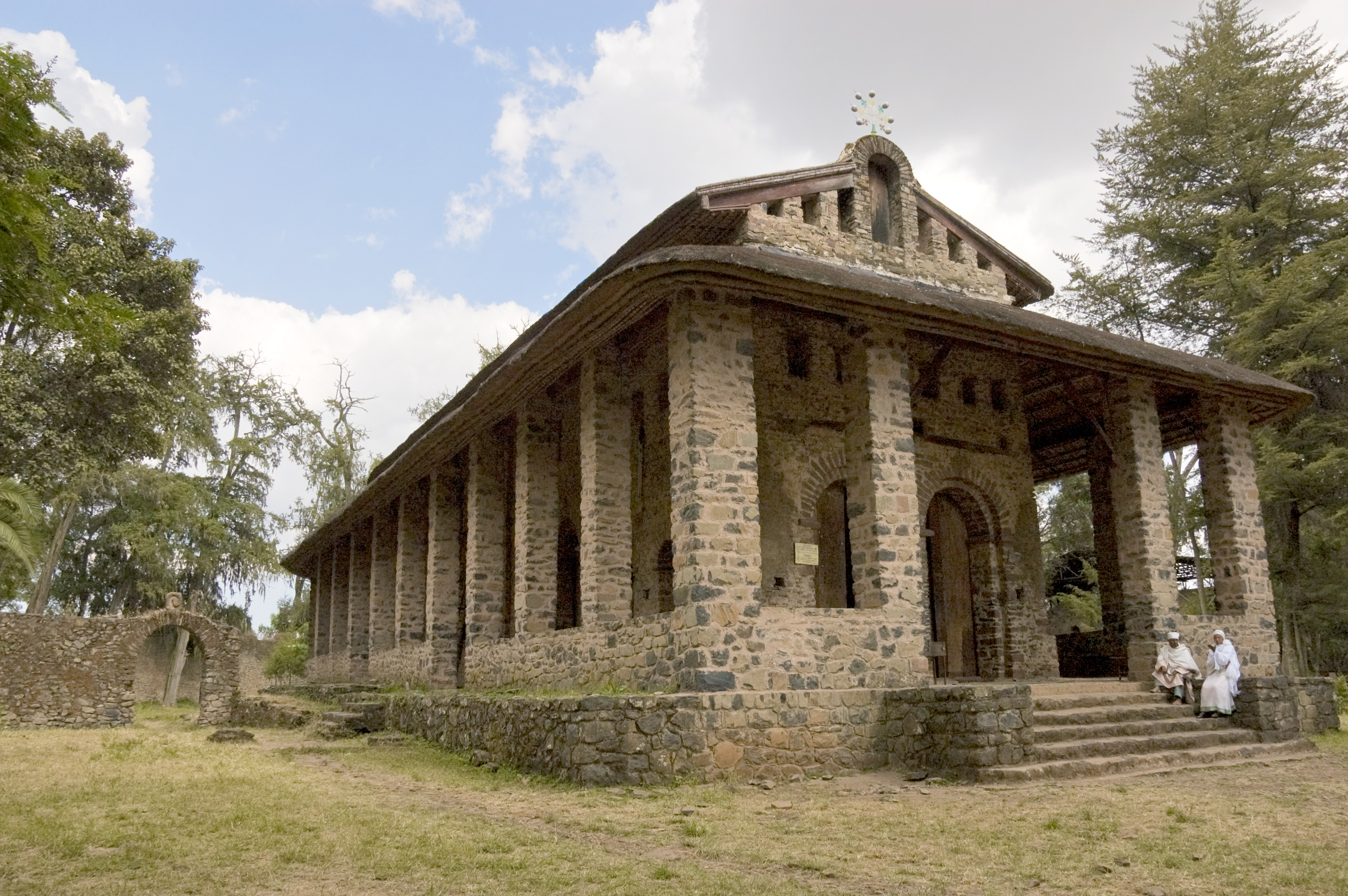 Church Of Debra Berhan Selassie Gondar Ethiopia Flickr