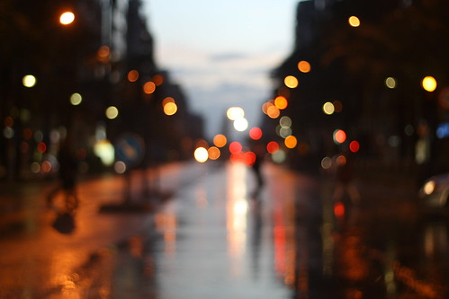Rainy lights