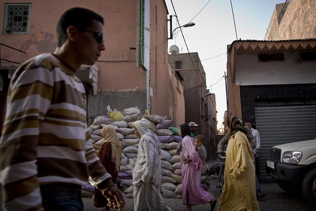 Street scene - Marrakech
