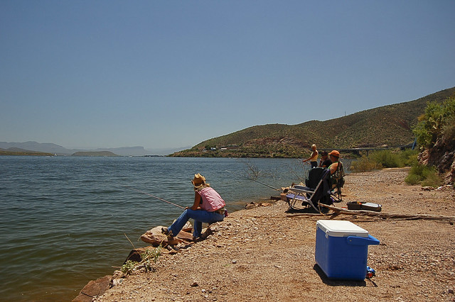 Fishing roosevelt lake az flickr photo sharing for Fishing lakes in arizona