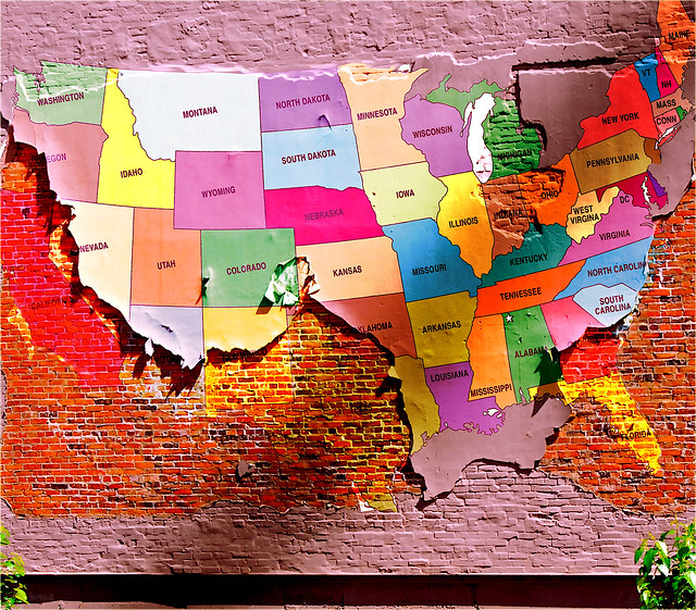 USA MAP by flickr user Don Hankins