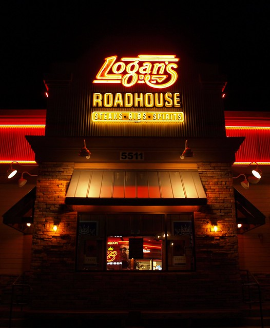 Logan 39 S Roadhouse Restaurant Citrus Heights At Night Nov 20 2007 Flickr Photo Sharing
