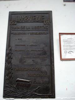 Зображення Casa Montjoy. house peru plaque casa balcony colonial independence balcon placa independencia lambayeque montjoy