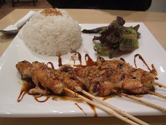 Indonesian satay, Sate Ayam Chicken Satay Blok M Express