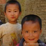 Young Hani Boys - Yuanyang, China