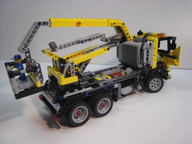 Lego Crane Truck Lego Technic Crane Truck