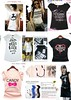 Korean fashion t-shirts