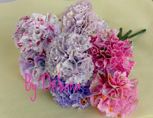 Flores prontas....