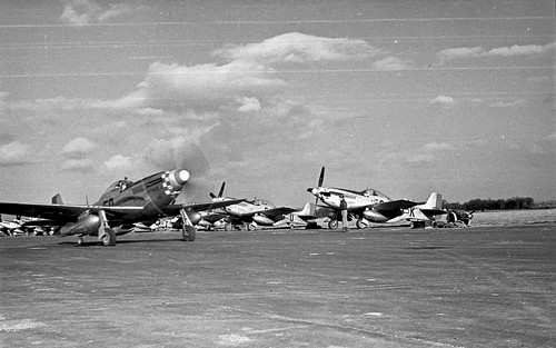 P51s parked 34 03