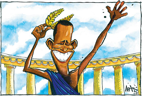 Obama caesar