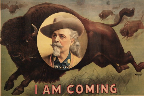 Buffalo Bill Cody poster, Smithsonian American Art Museum