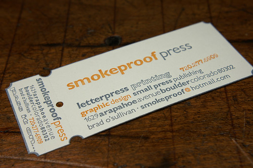 Smokeproof Press