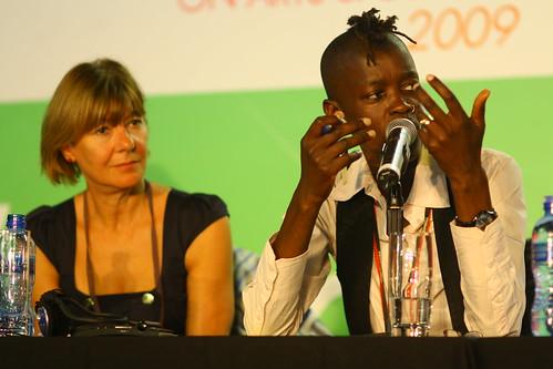 Yvette Vaughan Jones (UK) and Joy Mboya (Kenya), 4th World Summit on Arts & Culture