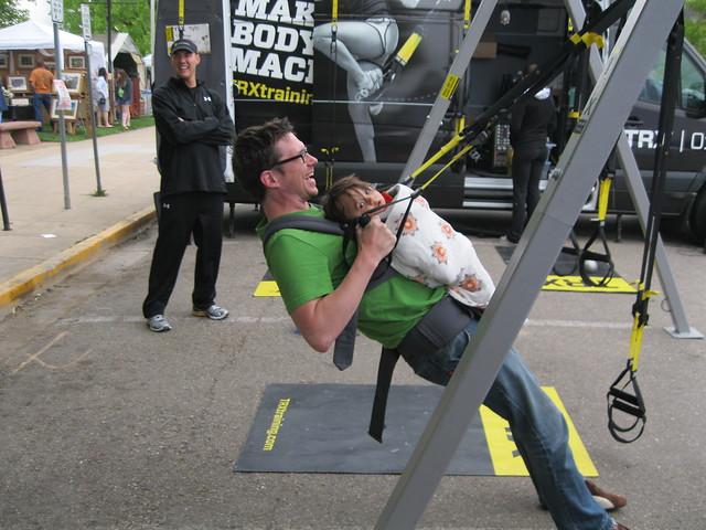 TRX training body exercises