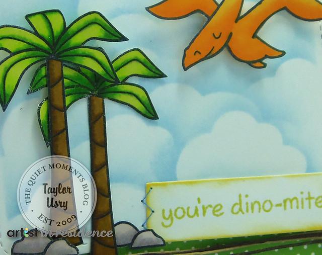 Dinomite Pteranodon Closeup