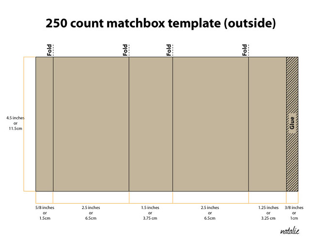 250 Count Matchbox Template Flickr Photo Sharing