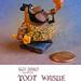 "Disney ""Toot"" Pewter Miniature Figurine by Miehana"