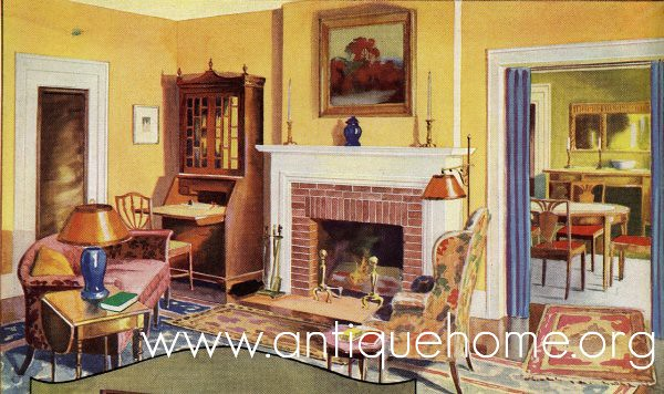 1930 living room flickr photo sharing for 1930s bungalow interior design