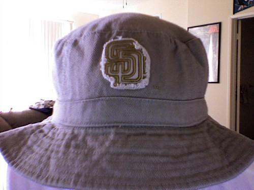 Padres floppy hat