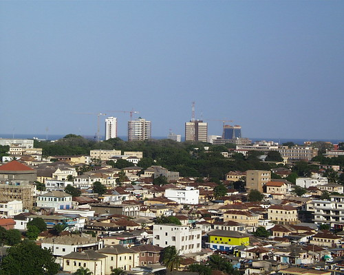 Skyline of Accra Ghana 3