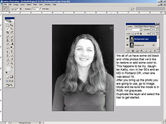 Tutorial - How to colorize a black and white photo
