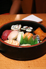 meal, lunch, fish, sushi, food, dish, cuisine, asian food, osechi,