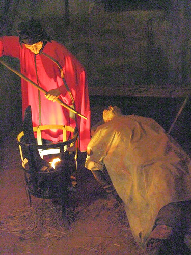 The Spanish Inquisition, Torture Chamber, Loket Castle, Czech Republic.