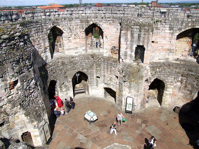 York Castle: Clifford's Tower Interior