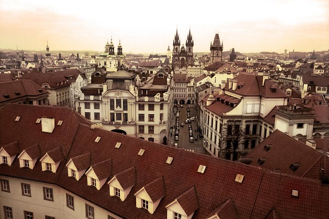 Prague (From Above)