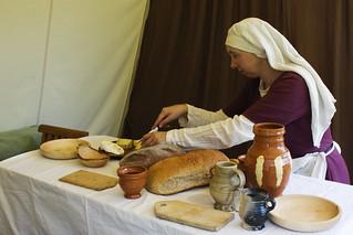 'preparing bread' by Hans Splinter