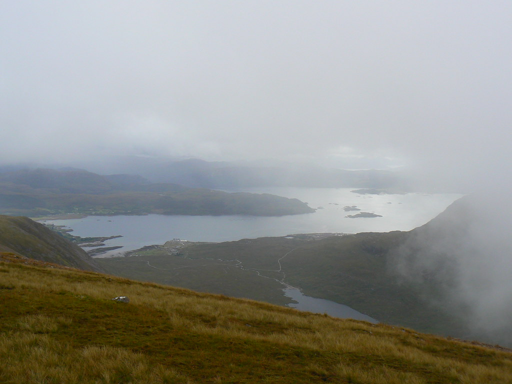 Loch Kishorn from Beinn Bhan