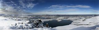 Snjóölduvatn, panorama
