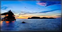 Sunset over Kadidiri, Togean Islands