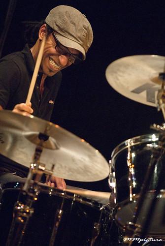 Manu Katché by concert fotograaf Utrecht Maarten Mooijman